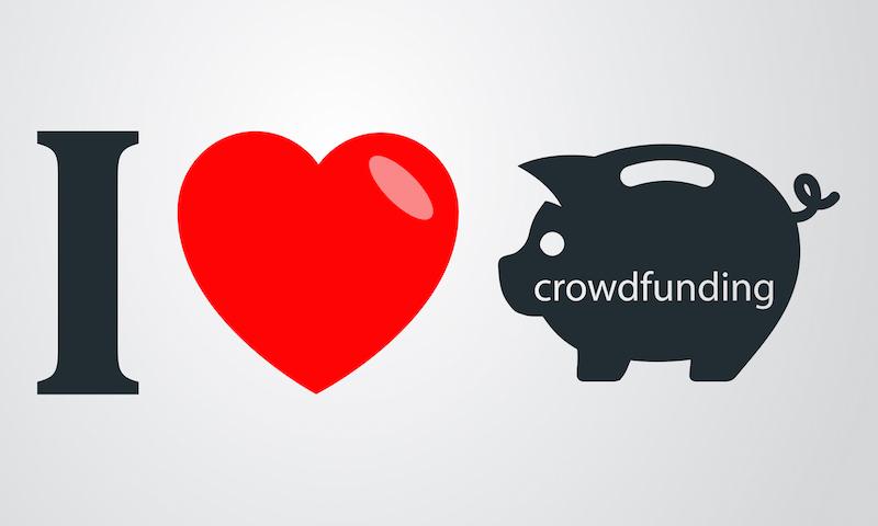I love crowdfunding